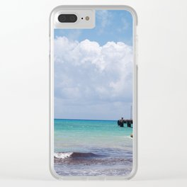 View of Your Dream Life Clear iPhone Case