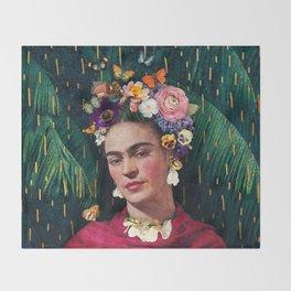 Frida Kahlo :: World Women's Day Throw Blanket