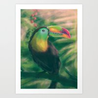 tropical Art Prints featuring Tropical by Ben Geiger