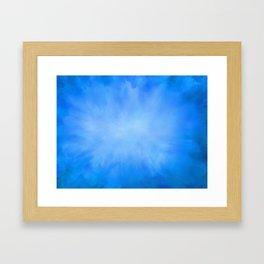 Blue Jean Sky Framed Art Print