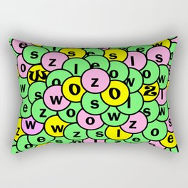 Swoozle Clusterfunk Rectangular Pillow