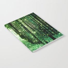 Magical Forest Green Elegance Notebook