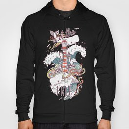Whales and Waves Hoody