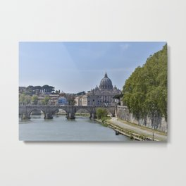 The Tiber River Metal Print