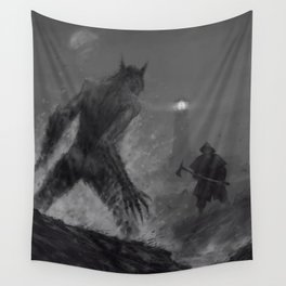 The lighthouse keeper Wall Tapestry