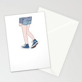 Blue and blue Stationery Cards