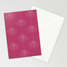 Modern leafs Stationery Cards