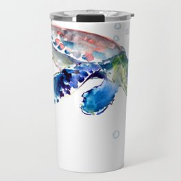 Sea Turtle Illustration Travel Mug