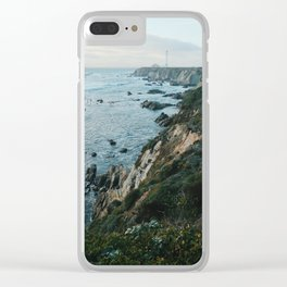 Point Arena Lighthouse Clear iPhone Case