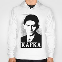 kafka Hoodies featuring KAFKA by Lestaret