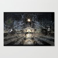 renaissance Canvas Prints featuring Renaissance by Magick Kazim
