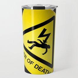 Danger of Death #2 | New Slant, Old Message Travel Mug