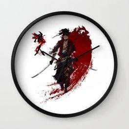 Ronin Wall Clock