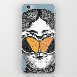 Butterflies and Binoculars iPhone Skin