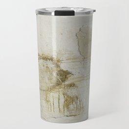 gold vain Travel Mug