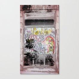 ruckus tableau veiling zilch Canvas Print