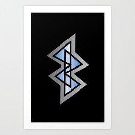 Boney Logo Art Print