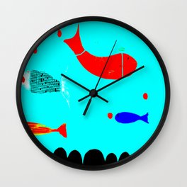 In the clouds part two, digitized Wall Clock