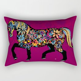 Horse (Ethno) Rectangular Pillow