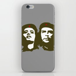 Che Guevara and the woman he loved iPhone Skin