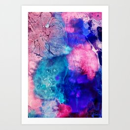 Magic watercolor  Art Print