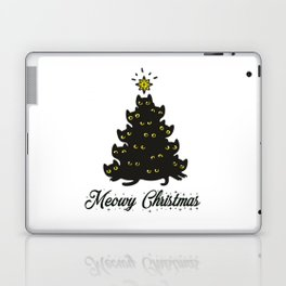 Meowy Christmas Laptop & iPad Skin