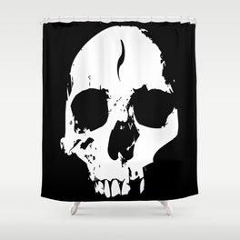Broken Skull Shower Curtain