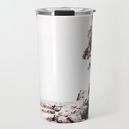 Beach days monochrome Travel Mug