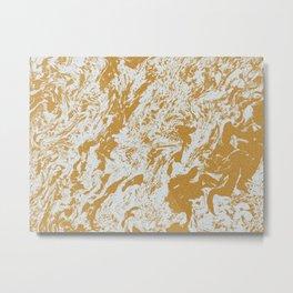 Y. Marblanite (B.W. Alternate) Metal Print