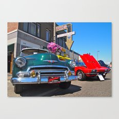 There's always cars! Canvas Print