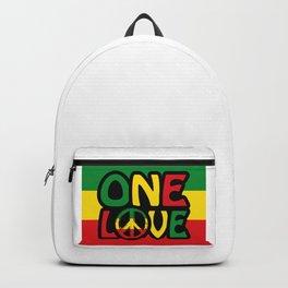 One Love, Reggae Design Backpack