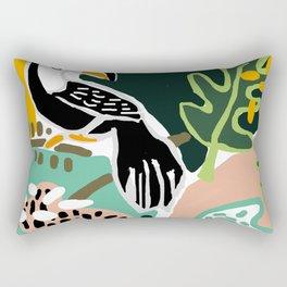 The Toucan Rectangular Pillow