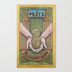 Práta Reliquary Canvas Print