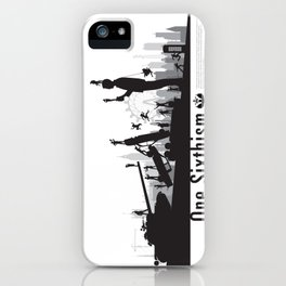 One Sixth Ism (Black World) iPhone Case