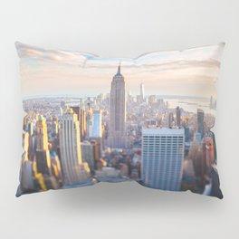 New York City at Sunset Pillow Sham