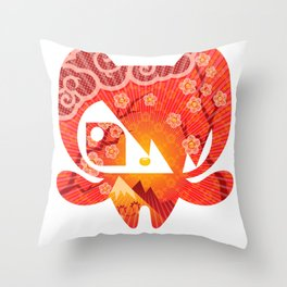 Takome Throw Pillow