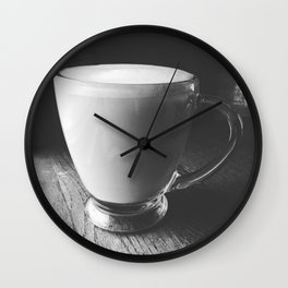 Afternoon Tea Time Wall Clock
