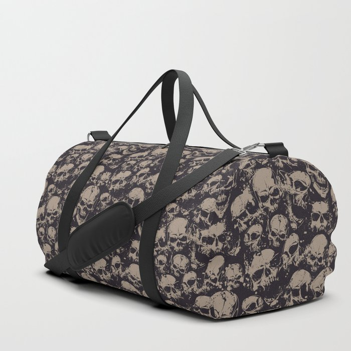 Skulls Seamless Duffle Bag