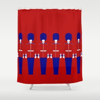 uk Shower Curtains featuring UK by Marcus Wild