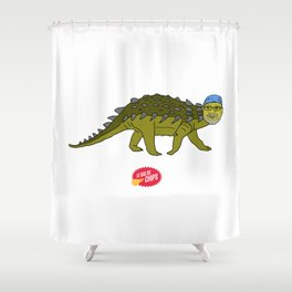 Bandana-saurus Shower Curtain