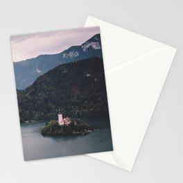 Lake Bled, Slovenia, 4 Stationery Cards