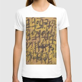 GLYPHS OF XANADU T-shirt