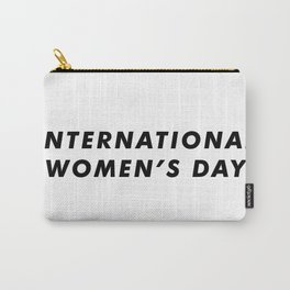 International Women's Day Aesthetic Carry-All Pouch