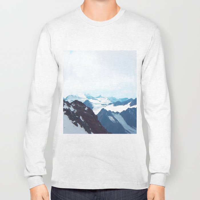 No limits - mountain print Long Sleeve T-shirt