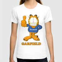 garfield T-shirts featuring GARFIELD by Dano77