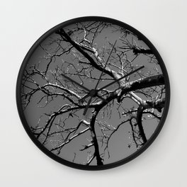 Just out of Reach Wall Clock