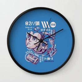 X's head Wall Clock