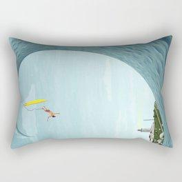 Big Wave Rectangular Pillow