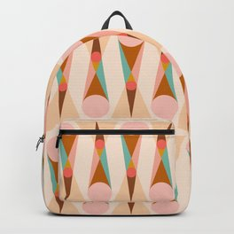 Abstraction_SUN_MOON_VISUAL_POP_ART_Minimalism_001X Backpack