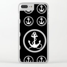 Anchors Aweigh Clear iPhone Case